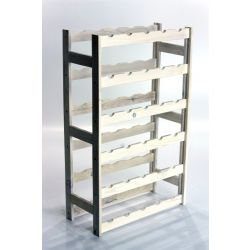 Bortartó, 30 üvegre - RV1 - Fehér