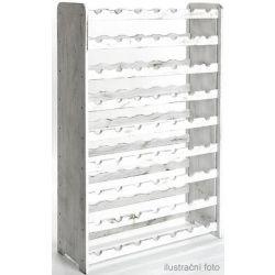 Bortartó, 63 üvegre - RV3 - Fehér