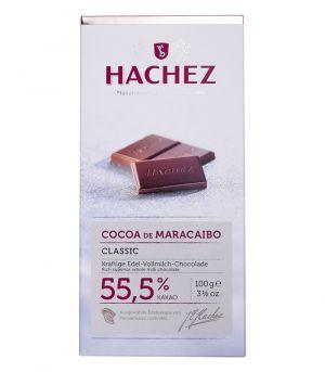 Tejcsokoládé - Cocoa De Maracaibo, Hachez 55,5%