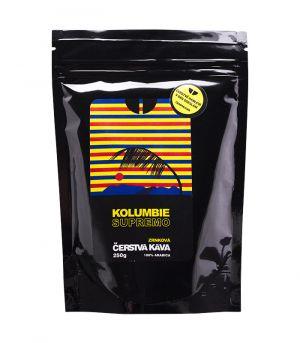 Kolumbie Supremo, őrölt kávé