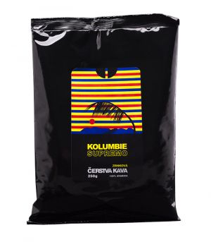 Kolumbie Supremo, szemes kávé