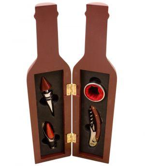Palackba zárt boros szett, ajándékdoboz - DPZ0058