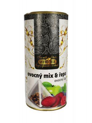 Vitto Tea TUBUS  Ovocný mix a řepa