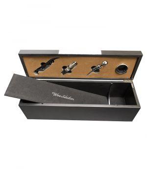 Boros készlet, ajándék doboz, 1 palackra - DPZ0079