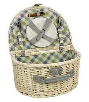 Piknik kosár - Tarlom - világos